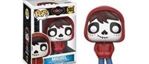 Figura de Coco-Miguel al estilo de funko pop