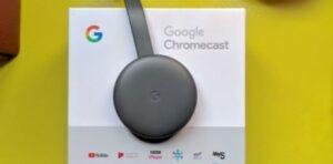 Cómo funciona el dispositivo chromecast (3ra) tercera generación de Google
