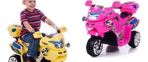 Motos recargables eléctricas para niños