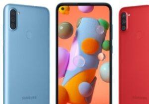 Celular Samsung Galaxy A11 4G Azul - 64 GB en descuento