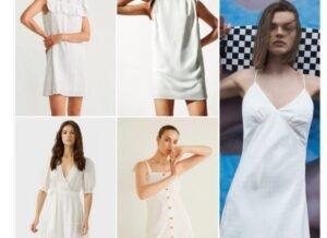 Vestidos blancos - Moda para mujeres 2021
